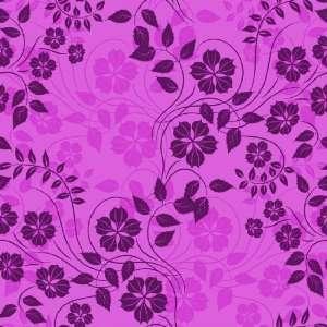 FLORAL NOUVEAU Purple & Black vine Vinyl Decal Sheets 12x12 Stickers