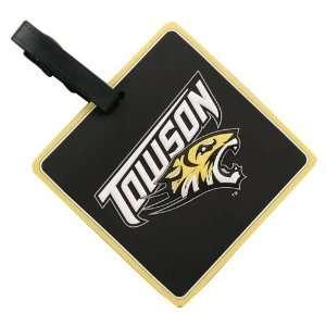 Towson Tigers Black Bag Tag