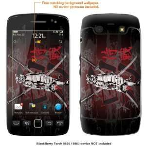 Skin STICKER for Blackberry Torch 9850 9860 case cover Torch9850 370