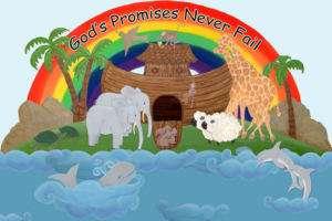 Jesus Loves the Little Children 6  Handpainted Wall Mu