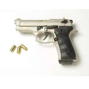 Compact V92F Blank Firing Replica Gun   Satin Finish