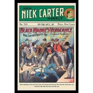 Nick Carter Black Madges Vengeance 20x30 poster