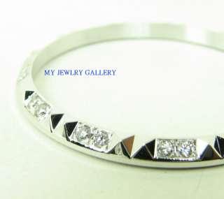18K SOLID WHITE GOLD DIAMOND BEZEL FOR MENS ROLEX DATEJUST DAYDATE