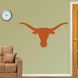 NCAA Texas Longhorns Logo Vinyl Wall Graphic Decal Sticker