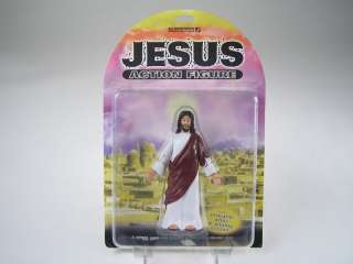 Accoutrements JESUS Biblical Quotes ACTION FIGURE NIB !