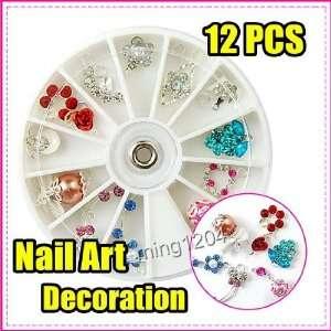 Charm 12 Shape Nail Art Decoration Wheel 262 Beauty