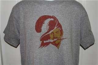 Tampa Bay BUCCANEERS Throwback Logo NFL T Shirt Large