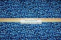 Timeless Treasures BLUEBERRY Fruit BLUEBERRIES Fabric
