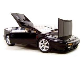 LOTUS ESPRIT V8 BLACK 118 AUTOART DIECAST MODEL