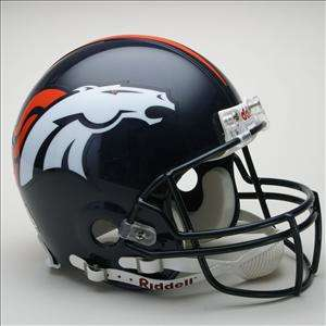 DENVER BRONCOS NFL Football Helmet FREE CUSTOM FACEMASK