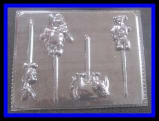 NEW **WINNIE THE POOH & FRIENDS** Lollipop Candy Mold