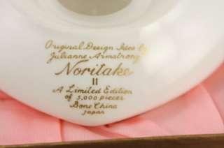 Vintage Noritake Bone China 1974 Valentines Day Heart