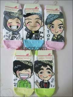 New BIGBANG 1 Pair of Socks (apple)Choose your option