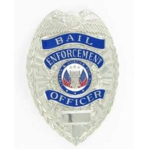 Bail Enforcement Officer Silver Shield Badge