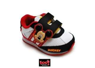 Girls Boys Baby Adidas Mickey and Minnie Mouse Trainers UK3 9 RRP £35