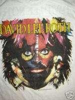 Vintage Concert T Shirt DAVID LEE ROTH 86 NEVER WORN