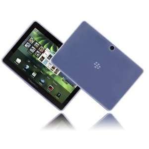 Modern Tech Blue Gel Skin Case Cover for BlackBerry