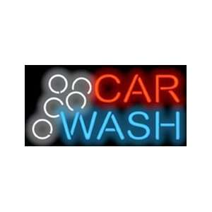 Car Wash Neon Sign Office Products
