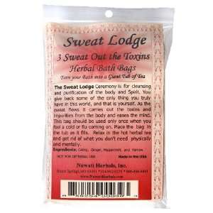 Nuwati Herbals Sweat Lodge Bath Bag, 3 Pack: Health