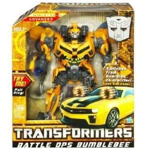 Hasbro Transformers Battle Ops Toy Bumblebee Figure