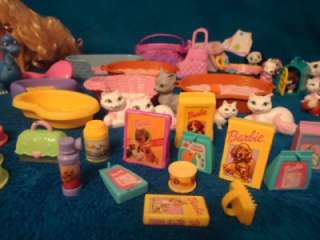 HAPPY FAMILY MATTEL BARBIE BRETZ PETZ DOLLHOUSE PETS