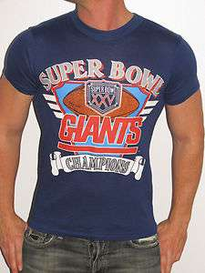 YORK GIANTS NFL FOOTBALL SUPERBOWL SUPER BOWL CHAMPIONS T SHIRT