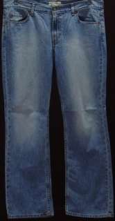 OLD NAVY JEANS WOMENS 16 R BOOT CUT LOW E47