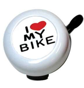 SUNLITE Bicycle Handle Bar Bell I LOVE MY BIKE