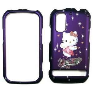 Hello Kitty Purple Motorola Droid Photon MB 855 Faceplate