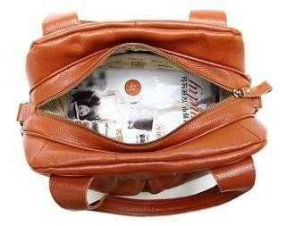 EG Bags   Women Genuine Leather Shoulder Tote Satchel★