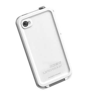 Waterproof White Apple iPhone 4 4S Cover Skin Case Life Proof