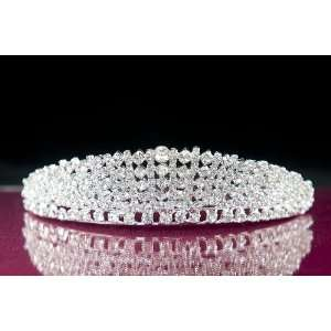 Anastasia Royal Bridal Swarovski Rhinestone Tiara Beauty