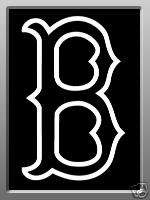 Huge Boston Red Sox Decal   Car Window Decal   11x 7