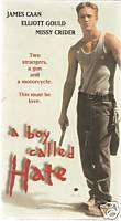 BOY CALLED HATE VHS JAMES CAAN ELLIOT GOULD ORIGINAL