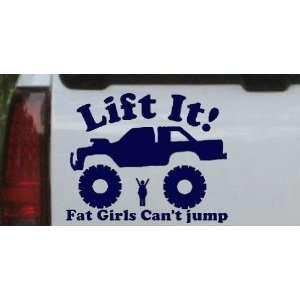Jump Truck Off Road Car Window Wall Laptop Decal Sticker Automotive