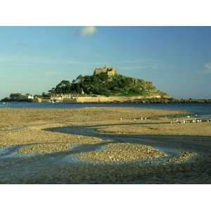 View South from Marazion Beach to St. Michaels Mount