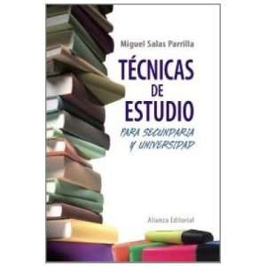 Secundaria y Universidad (9788420608372): Miguel Salas Parrilla: Books