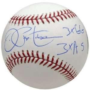 Joe Pepitone Autographed Baseball  Details 3x Gold Glove