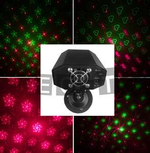 Red Green Laser Stage Light DJ Disco ball with Remote Control