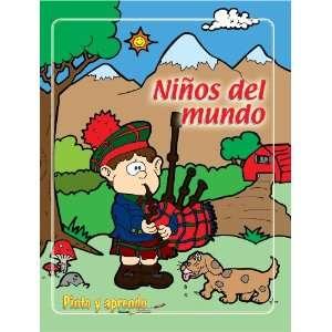 Pinto y Aprendo Ninos del Mundo (Spanish Edition