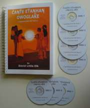 Lakota Sioux Indian Language Book   includes 7 CDs
