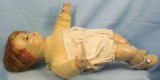 Madame Alexander Butch Composition Doll 1936 Orig Clothes Cloth Body