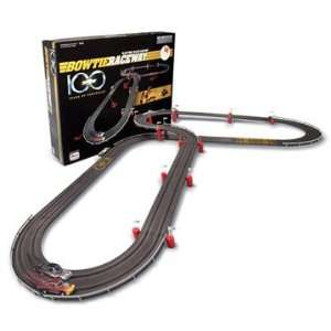 100th Anniversary Bowtie Raceway HO Scale Slot Car Set: Toys & Games