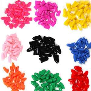 New 30pcs Soft Dog Cat Pet Nail Caps Claw Control Paws off + Special