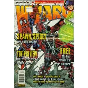 Wizard #62 Spawn/Spidy Free Jim Lee F.F Poster and Lady