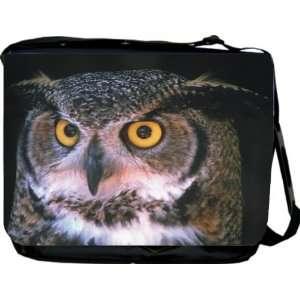 Rikki KnightTM Owl Design Messenger Bag   Book Bag