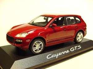 43 MINICHAMPS 2008 PORSCHE CAYENNE GTS RED DEALER ED.