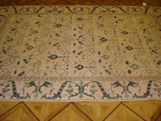 6x9 Gold Teal Nourison Millennia MI13 Flat Weave Wool Soumak Oriental