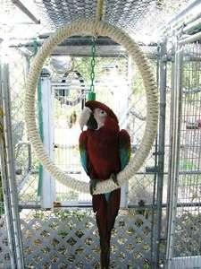 Qoaws Extra Large Sisal Ring Swing 21inch diameter