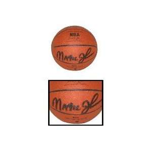 Magic Johnson, Autographed NBA Mini Basketball by Spalding